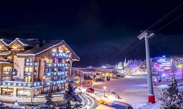Transfert vers la station de ski de Courchevel avec Alticap Transports