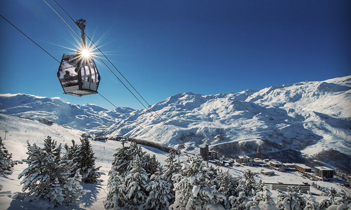 Transfert vers la station de ski des Menuires avec Alticap Transports