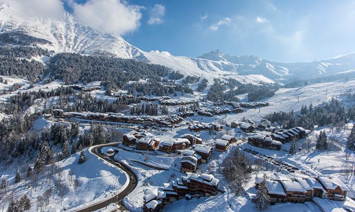 Transfert vers la station de ski de Valmorel avec Alticap Transports